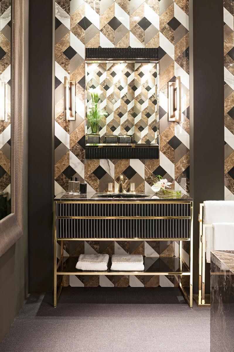 Que tal inovar na decoração e inserir uma peça exclusiva no seu banheiro?