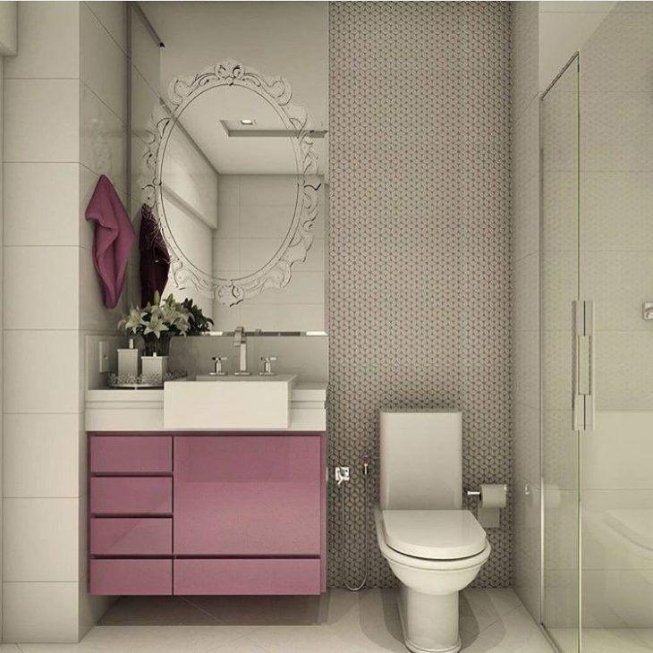 Gabinete para Banheiro 65 Modelos e Como Escolher -> Como Improvisar Um Armario De Banheiro