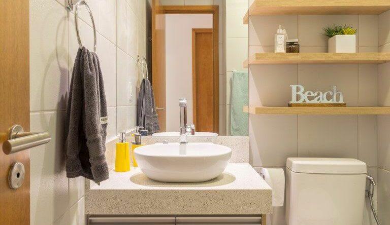 Gabinete para banheiro: 65 modelos e como fazer a escolha certa