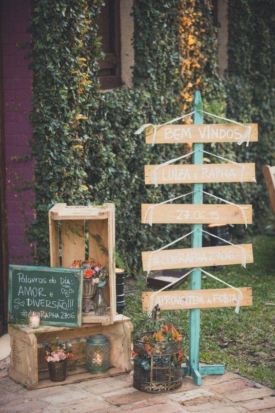 Decoração de casamento simples e barata