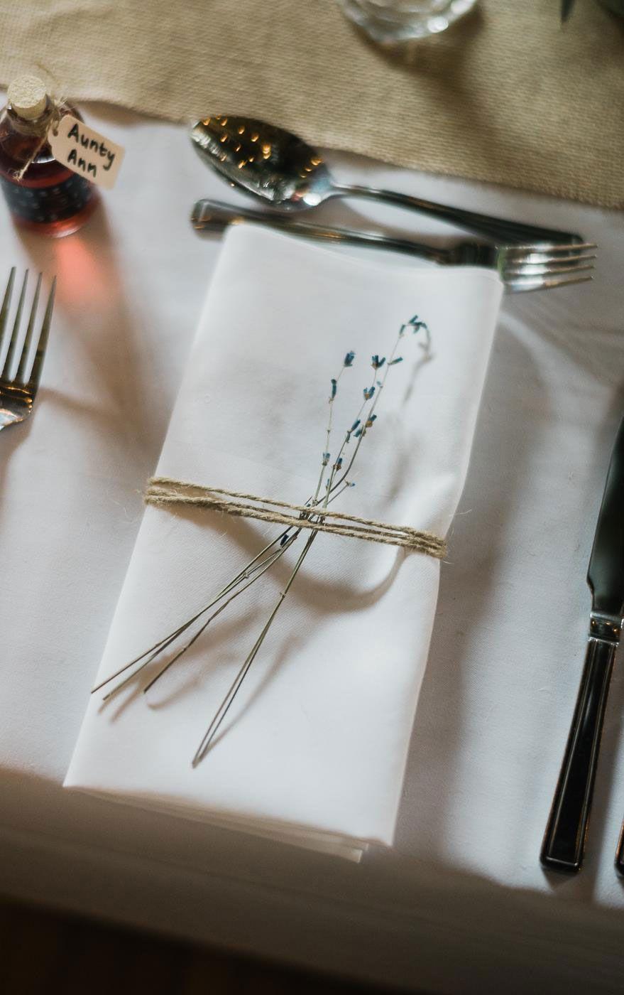 Pequenas delicadezas são capazes de encantar os convidados