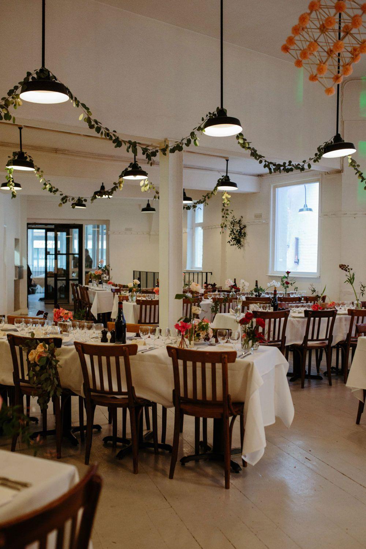 Restaurante para casamento simples