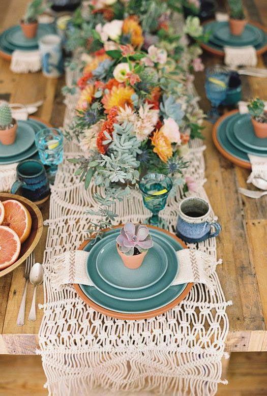 Simplicidade, atenção e cuidado na organização da mesa