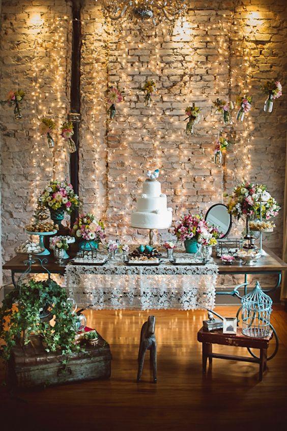 Perfeito para mini weddings em casa / salão de festa