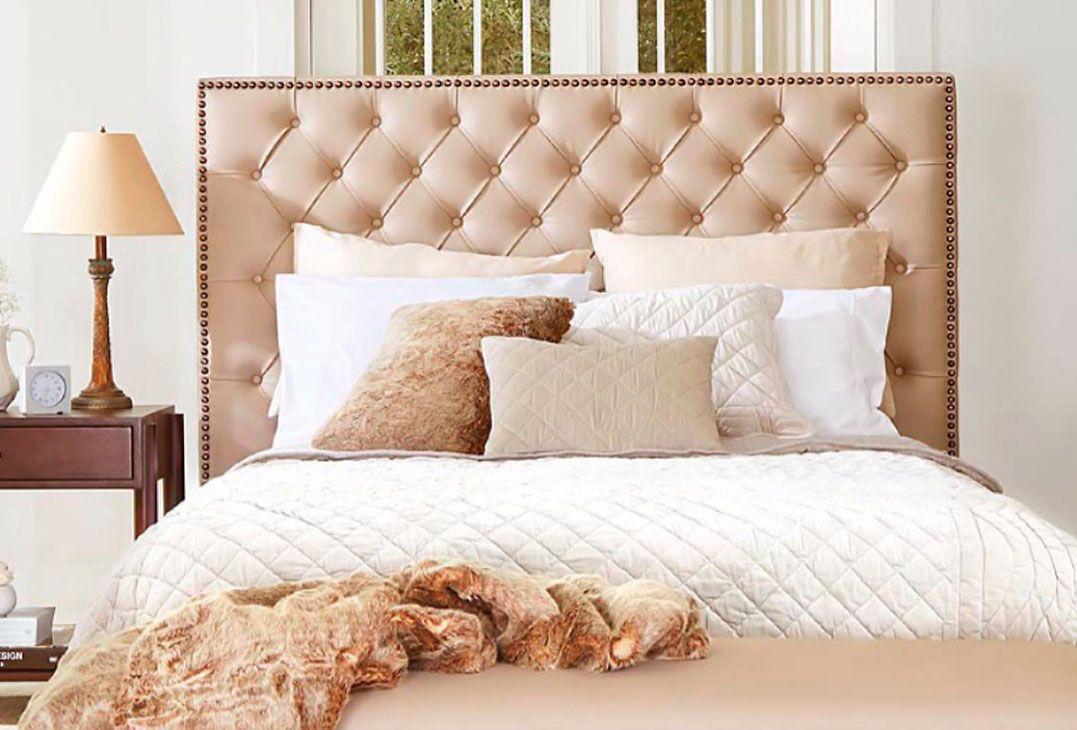 Cabeceira capiton 60 modelos fotos e passo a passo - Como decorar cabeceros de cama ...