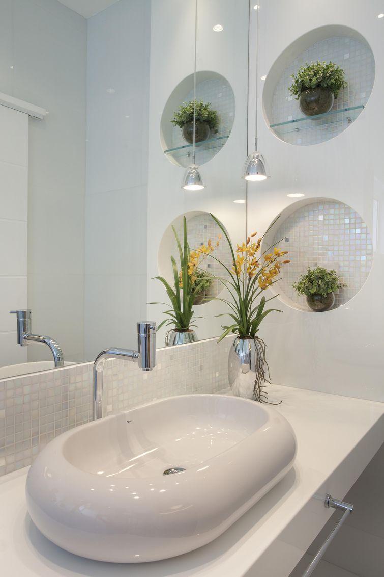 Cuba para Banheiro Tipos, Modelos e 60 Fotos Incríveis! -> Cuba Para Banheiro Em Formato Ovalado