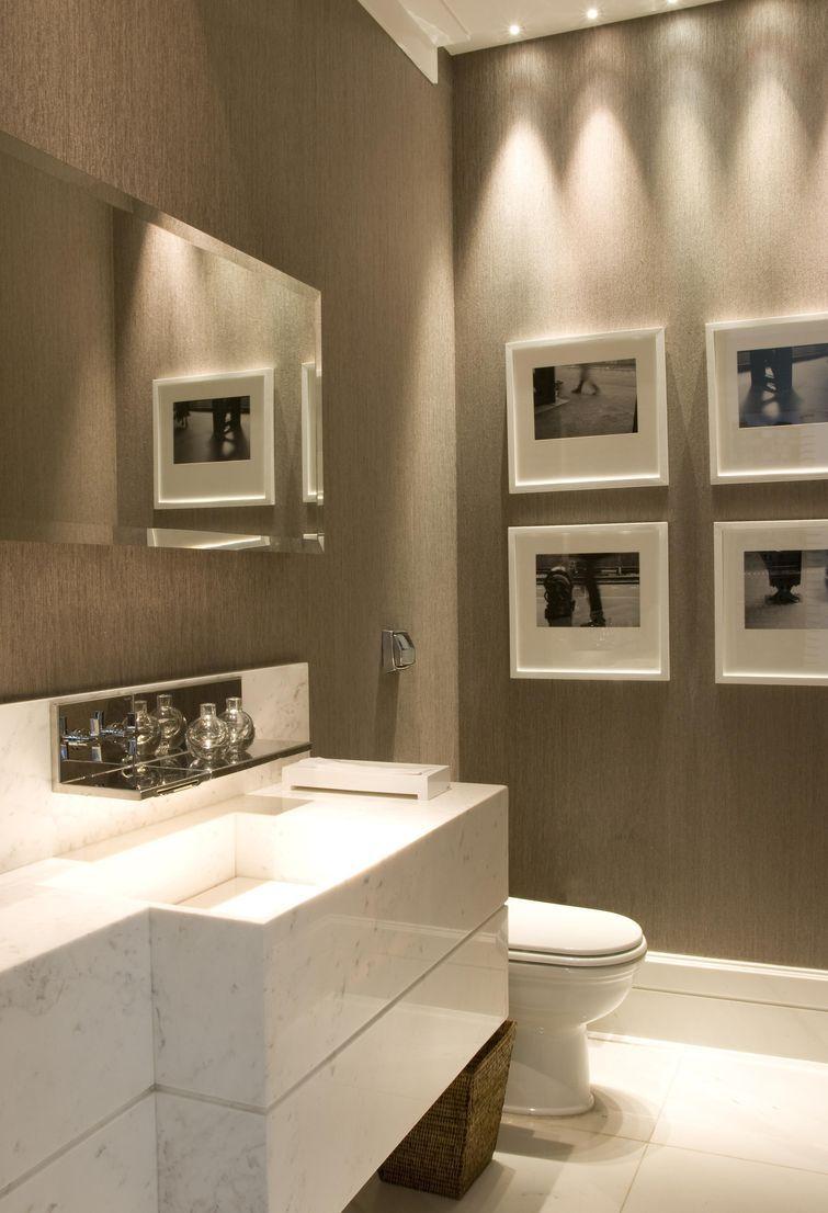 Cuba para Banheiro Tipos, Modelos e 60 Fotos Incríveis! -> Banheiro Decorado Quadros