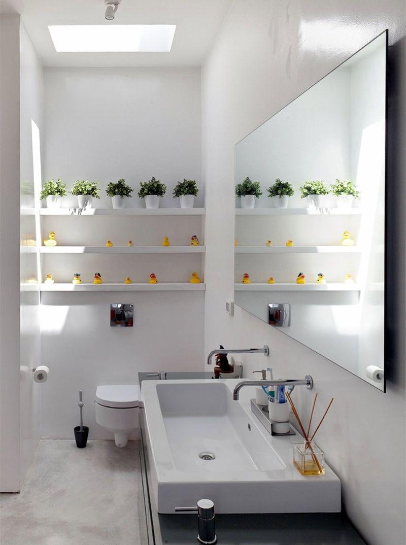 Cuba para Banheiro Tipos, Modelos e 60 Fotos Incríveis! -> Cuba Estreita Banheiro