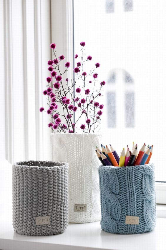 Dê uma nova roupagem com o crochê de diferentes pontos.