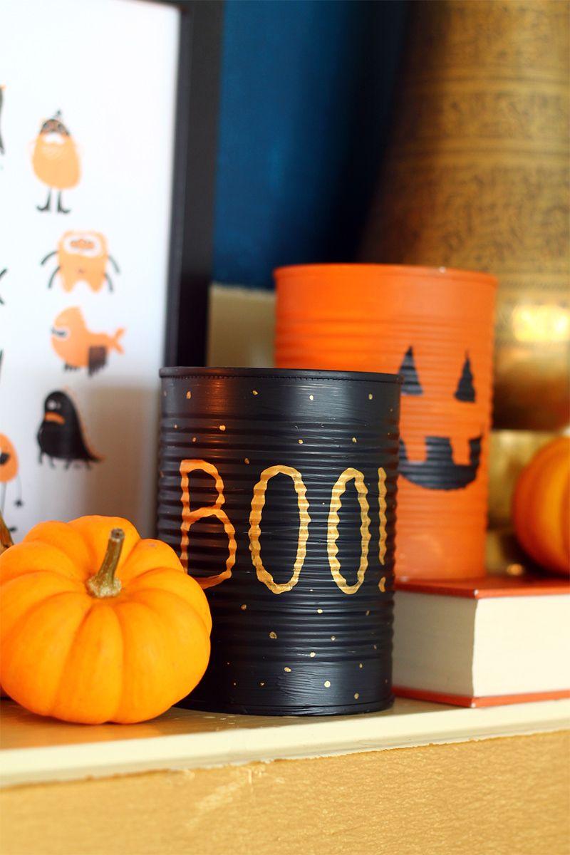 Peça ajuda dos filhos para decorar a festa do Halloween!