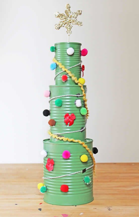 Substitua a tradicional árvore de Natal.