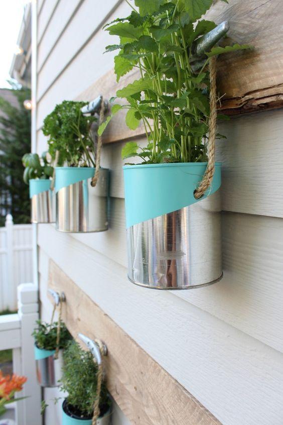 Referência para deixar sua horta moderna e cool.