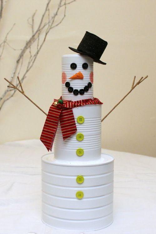 Reúna a criançada e montem o seu próprio boneco de neve.