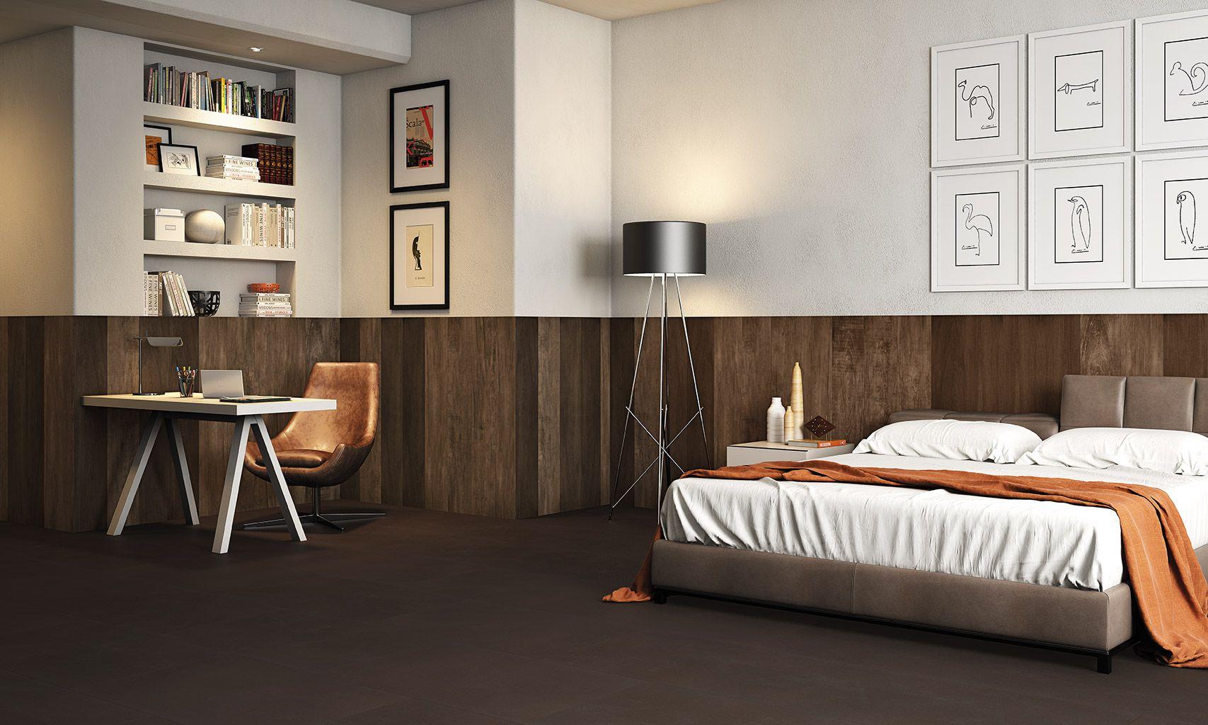 Um simples acabamento muda todo o visual do quarto.