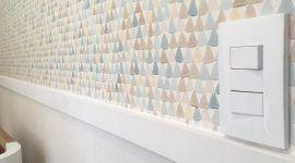 Rodameio: modelos, tipos & 60 paredes com divisões