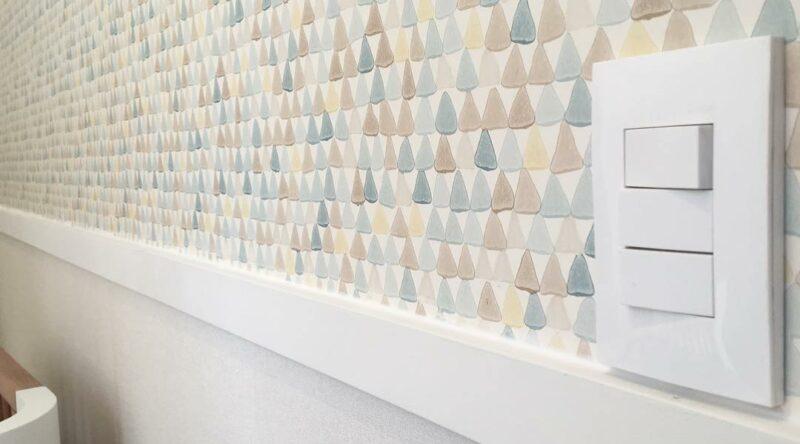 Rodameio: modelos, tipos e 60 paredes com divisões