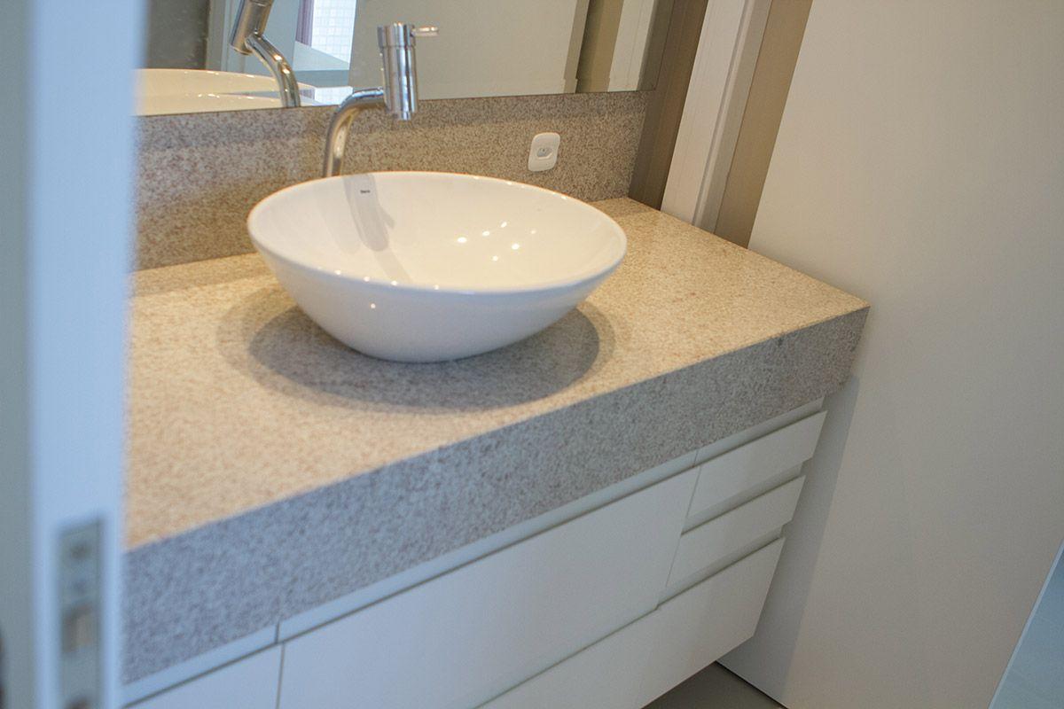 Granito Branco Tipos, Preços e Fotos Incríveis! -> Pia De Banheiro Granito Branco Itaunas