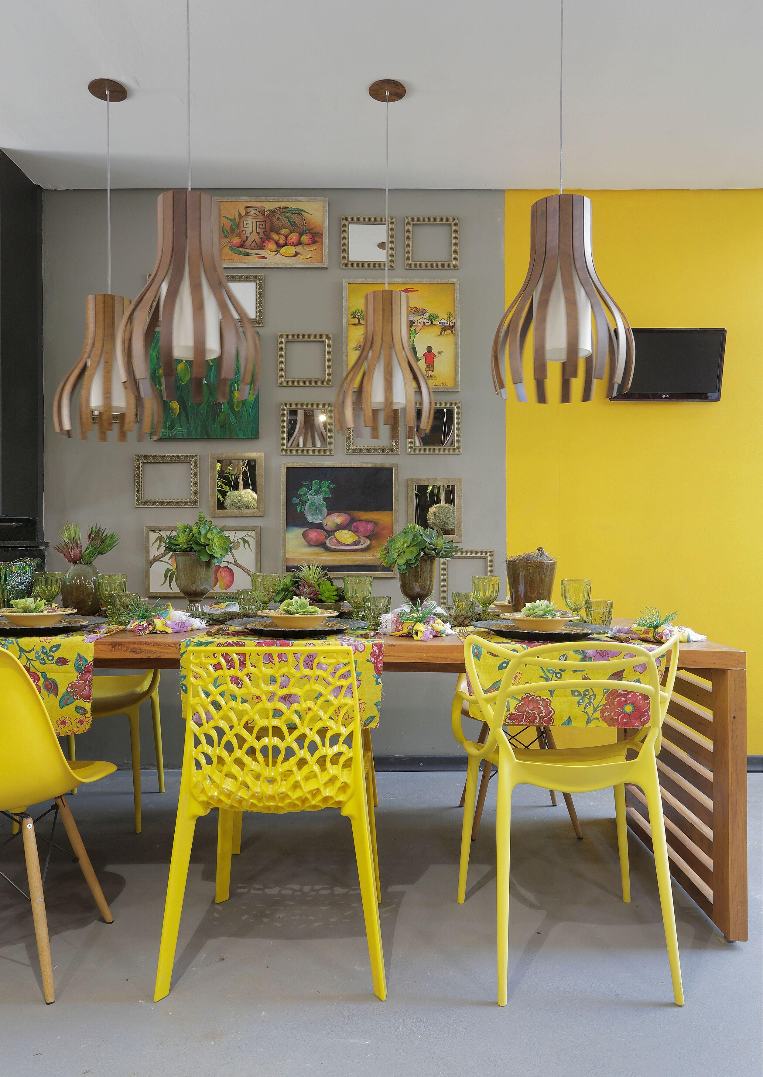 Utilize cores vibrantes na decoração