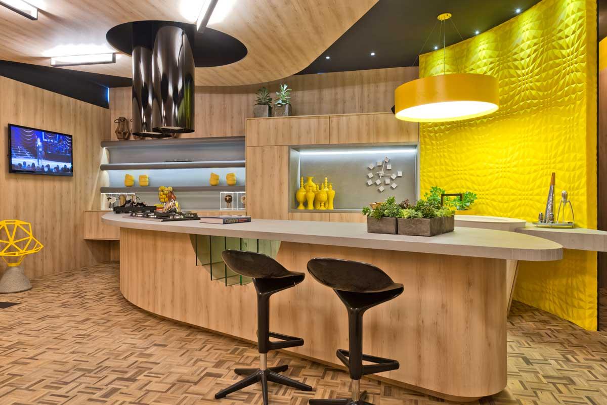 Bancada Cozinha Gourmet Inspirao Arquitetura E Design Nesse Modelo