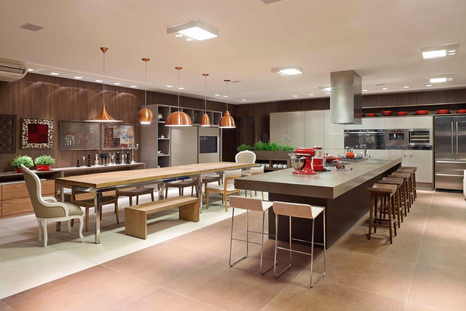 Aposte em uma cozinha gourmet para receber os convidados