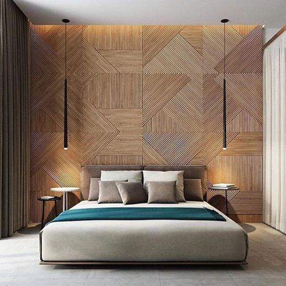 Bedroom Cupboards Brisbane Modern Romantic Bedroom Interior Purple Black And White Bedroom Korean Drama Bedroom Design: Luminárias Para Quarto: 60 Ideias, Modelos E Passo A Passo
