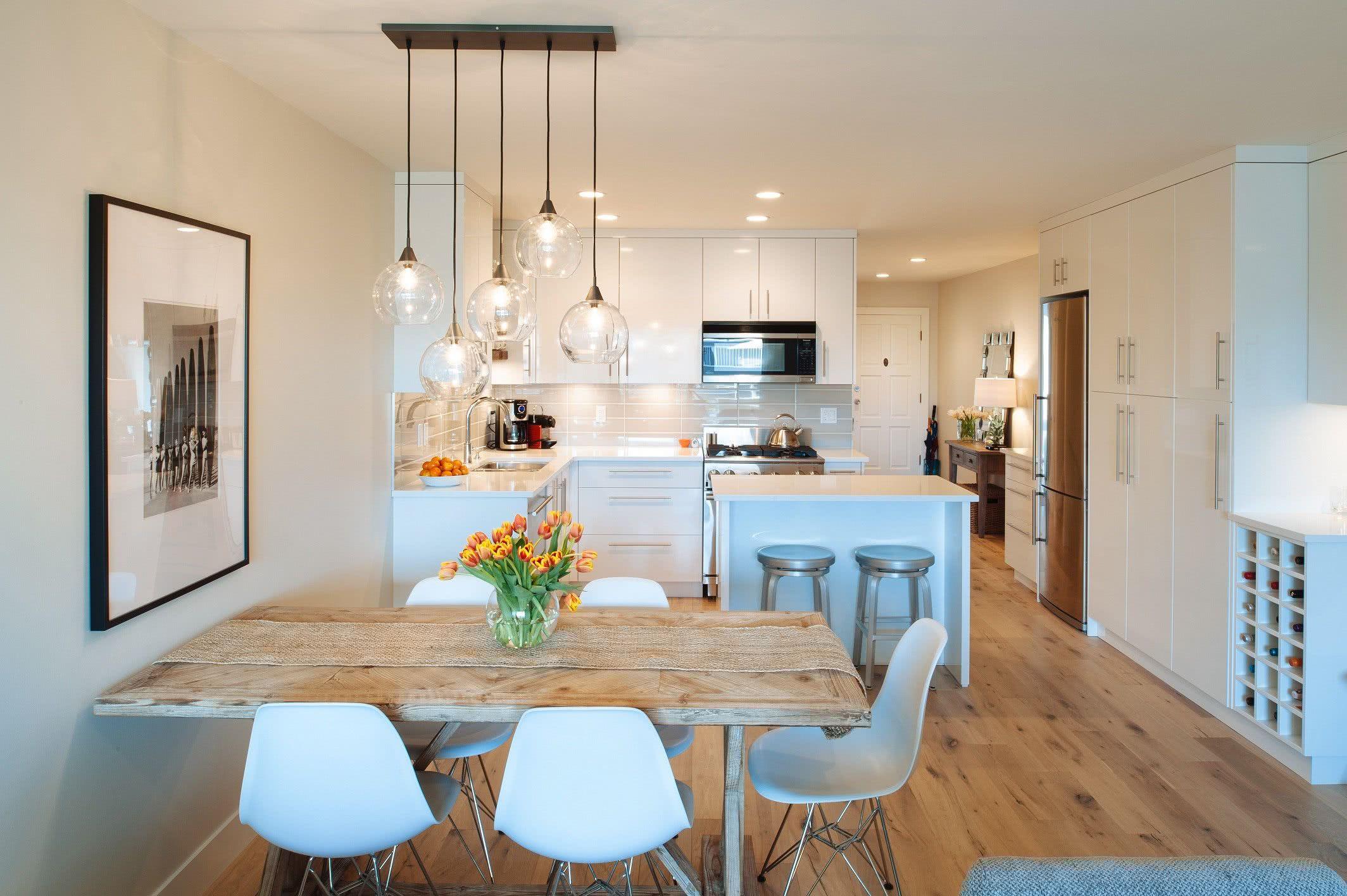 Cozinhas Pequenas Projetadas Para Cozinhas Muito Pequenas Uma  -> Sala Simples Projetada