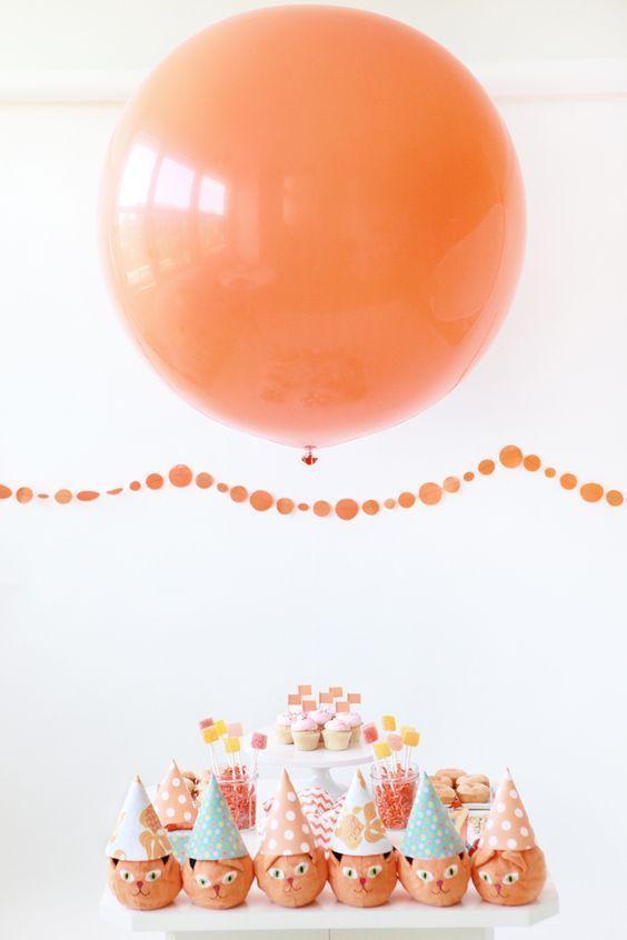 Um único balão que faz toda a diferença!