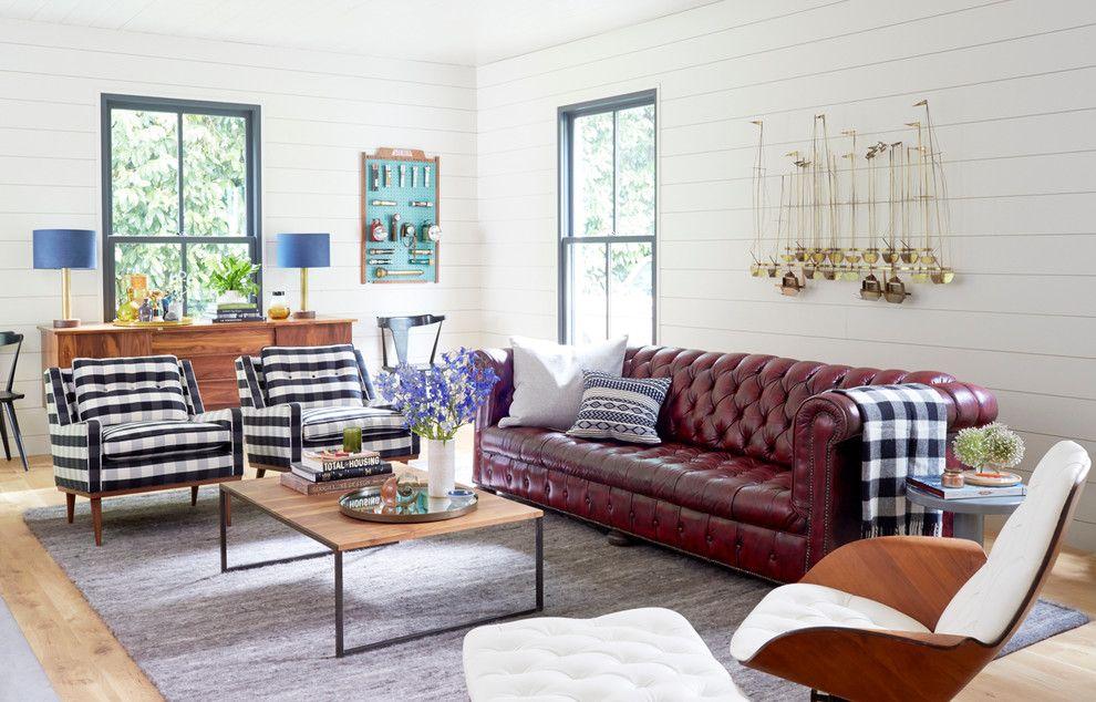 Sofá de couro: 70 modelos incríveis para decorar ambientes