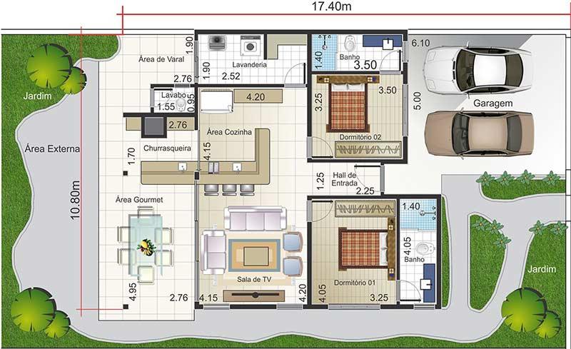 Planos de casas grandes good como es un plano de casa de - Planos de casas grandes ...