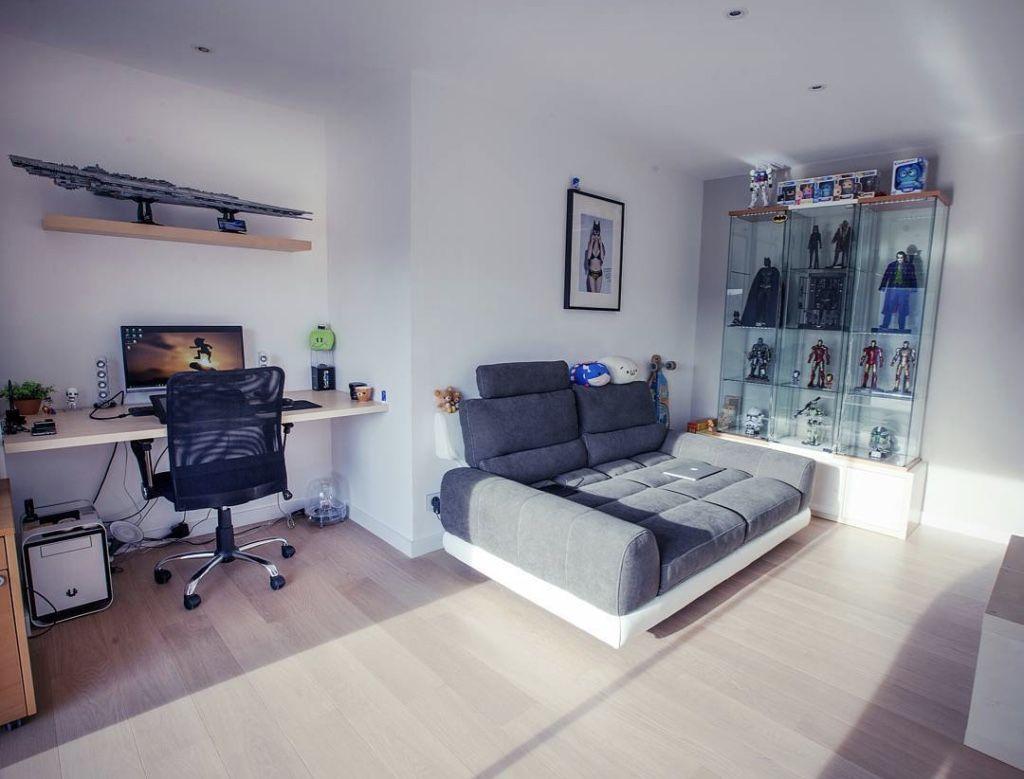 Quarto gamer 60 ideias e dicas incr veis para decorar for Pc de salon gamer