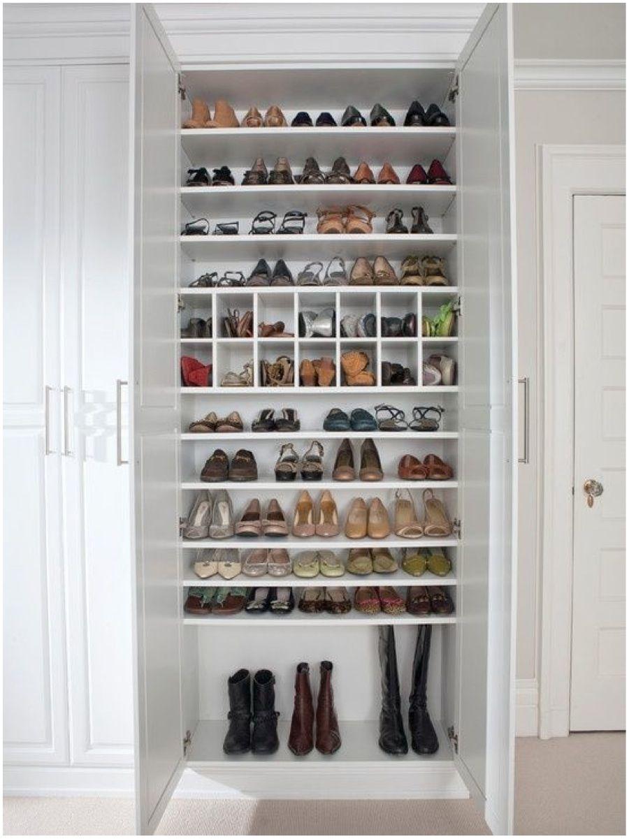 Sapateira 60 modelos e ideias do m vel com fotos for Closet para zapatos modernos