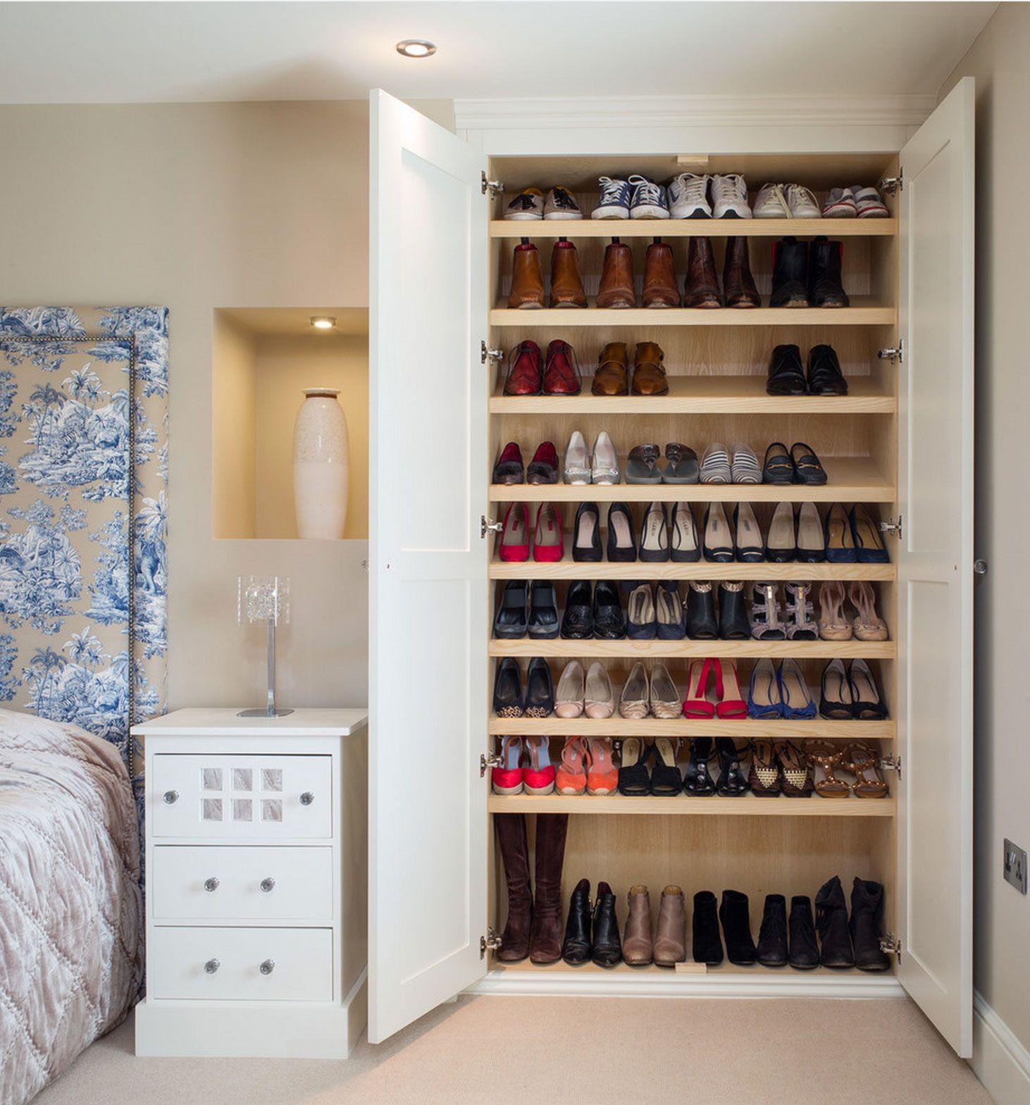 Sapateira 60 modelos e ideias do m vel com fotos for Zapateras modernas para closet