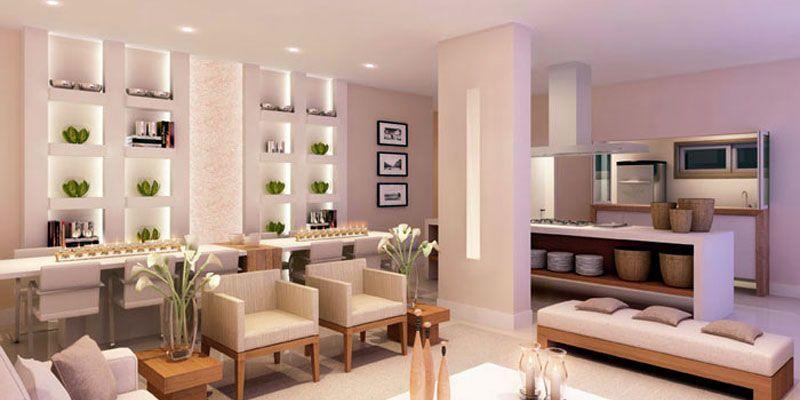 Estante de gesso vantagens e 60 projetos para se inspirar for Montar pared de pladur