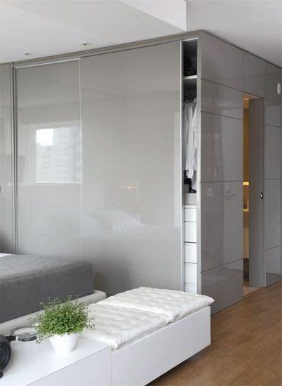 O acabamento pode ser utilizado nas paredes também