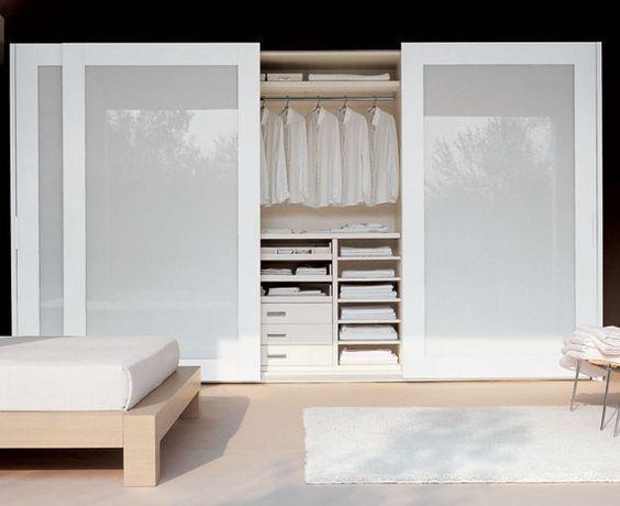 Guarda roupa planejado embutido 60 modelos e dicas for Ideas puertas de closet