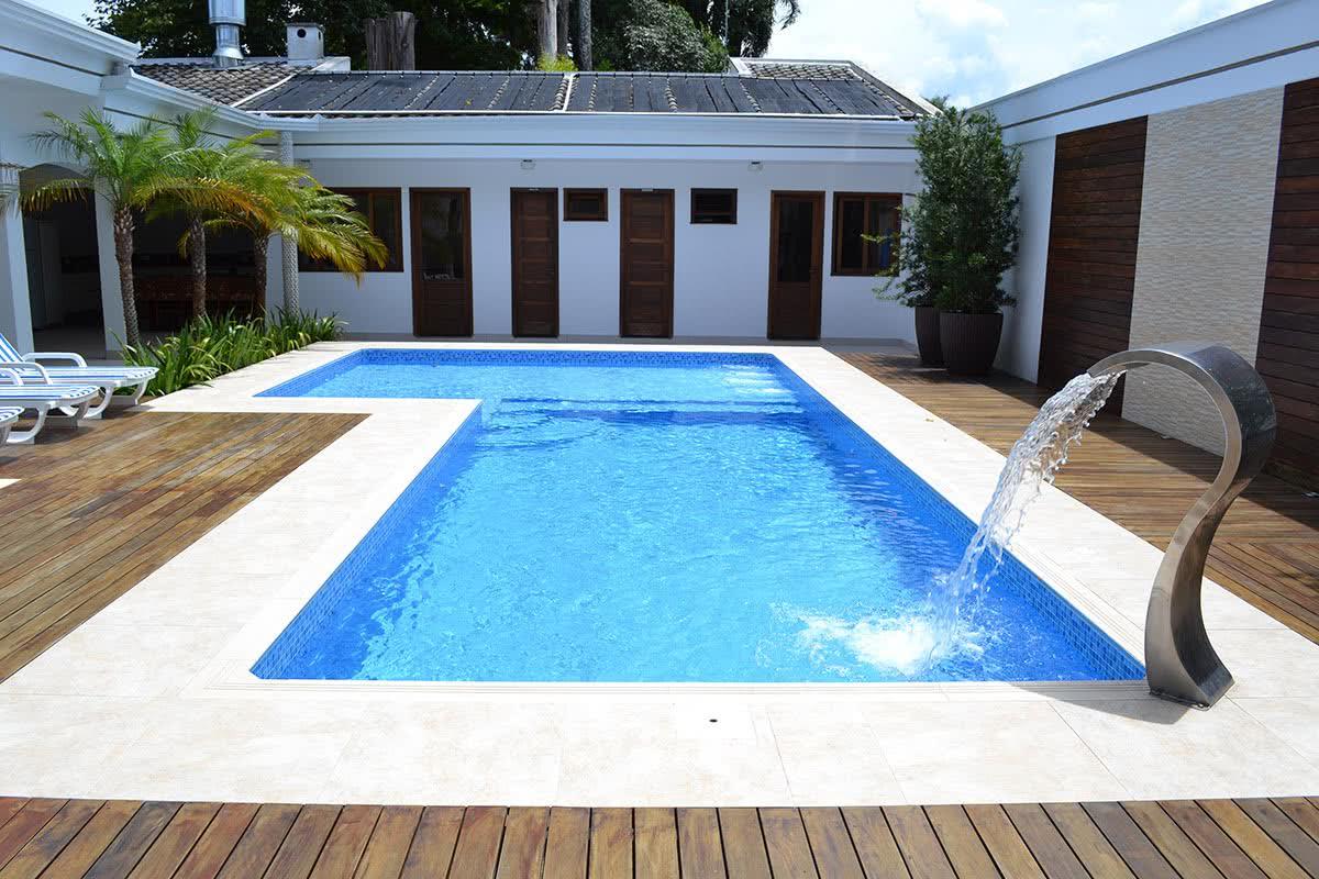 Piscina de vinil o que vantagens e fotos para se inspirar for Material para piscina