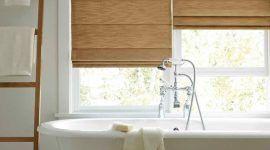 Cortina para banheiro: dicas e como fazer a escolha para a janela