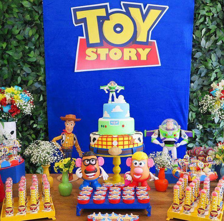 Festa Toy Story: 60 ideias de decoração e fotos do tema