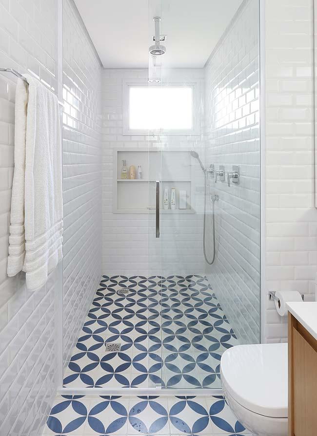 Tradicional azul do azulejo português
