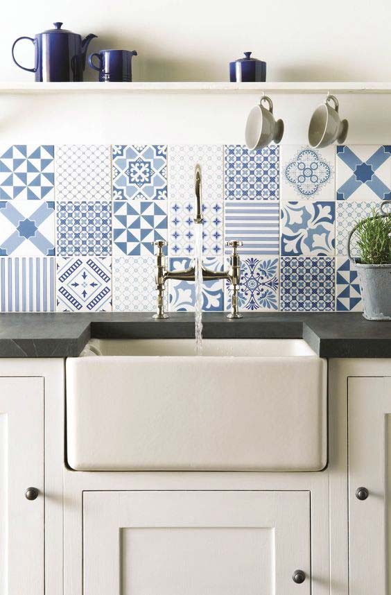 Azulejo português na parede