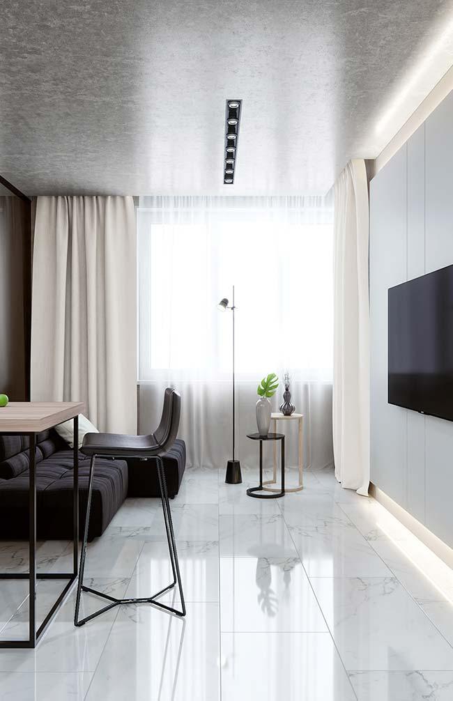 A cortina para sala, além de bonita, precisa atender as necessidades dos moradores