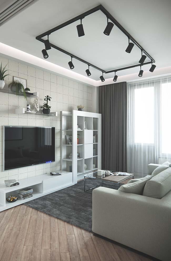 Cortina para sala: uma sugestão para quem deseja decorar e bloquear a luz