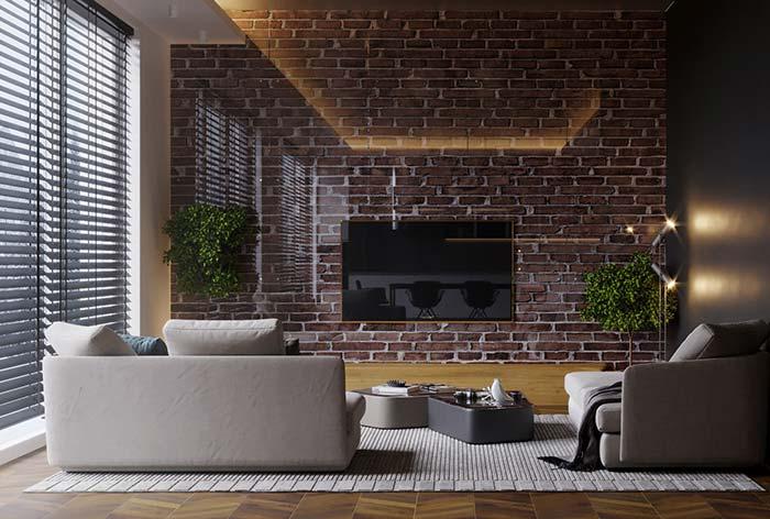 Cortina para sala: aposte nas persianas para um ambiente moderno e funcional