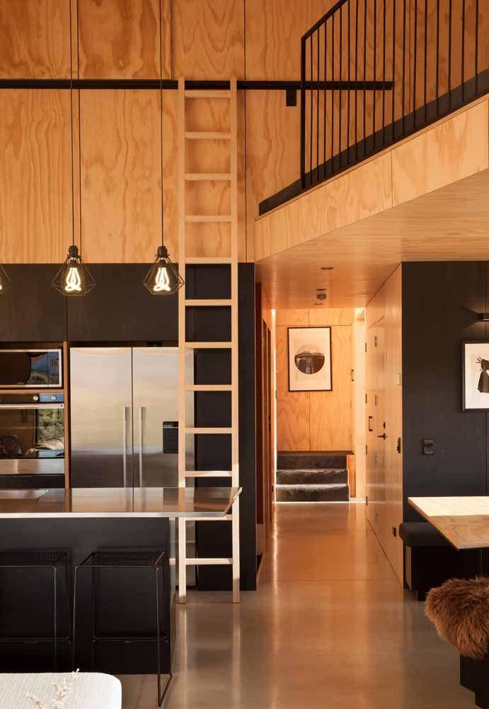 Combine o piso com os móveis
