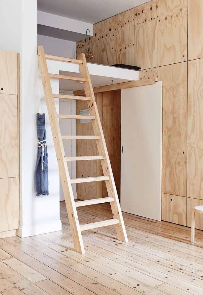 Faça uma combinação entre o piso e a parede