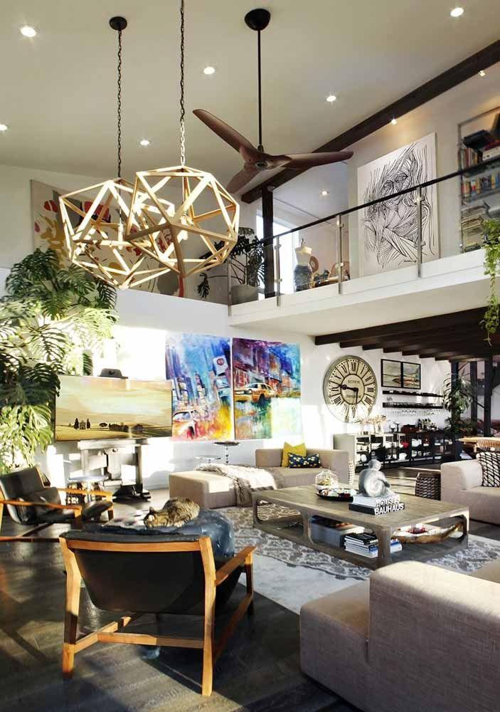 Transforme uma casa em loft