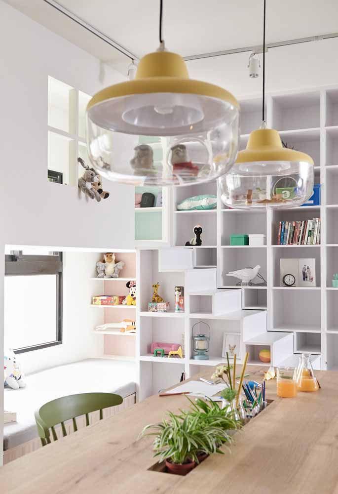Mantenha seu loft muito bem organizado