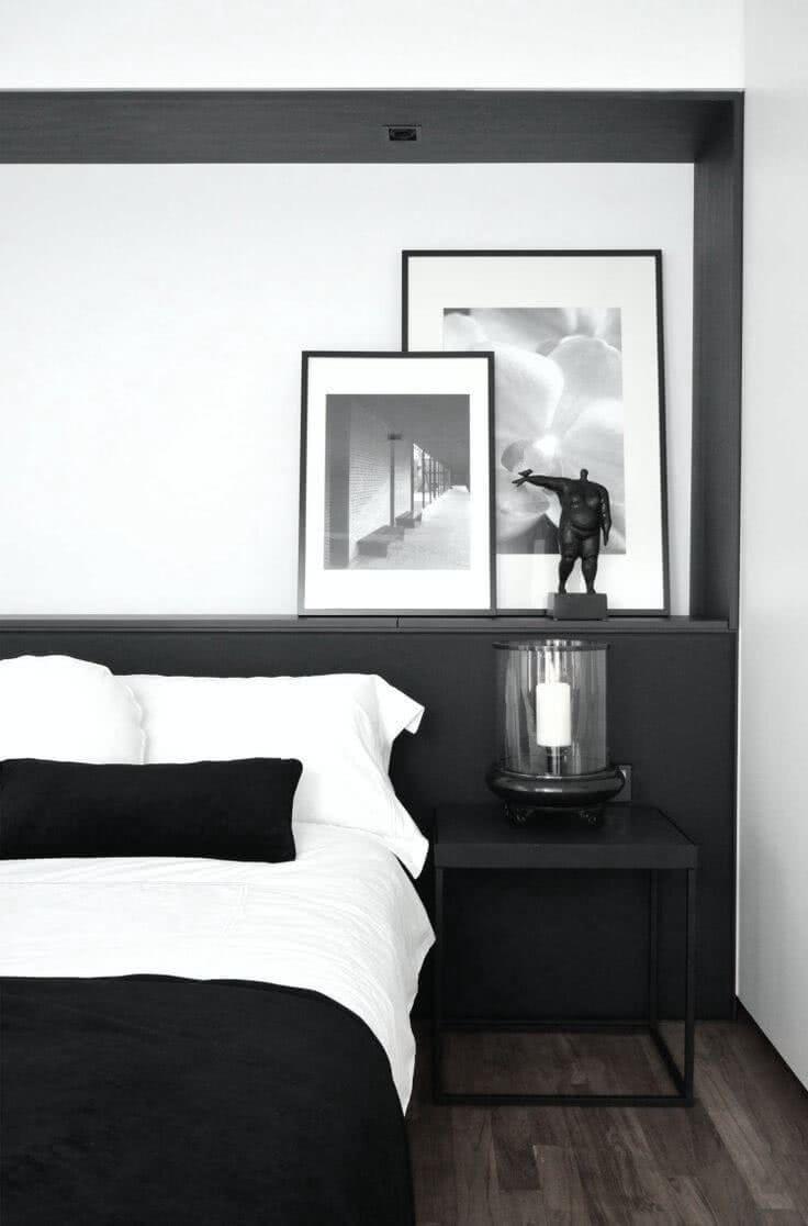 Decoração preto e branco: 60 ideias de ambientes para se inspirar