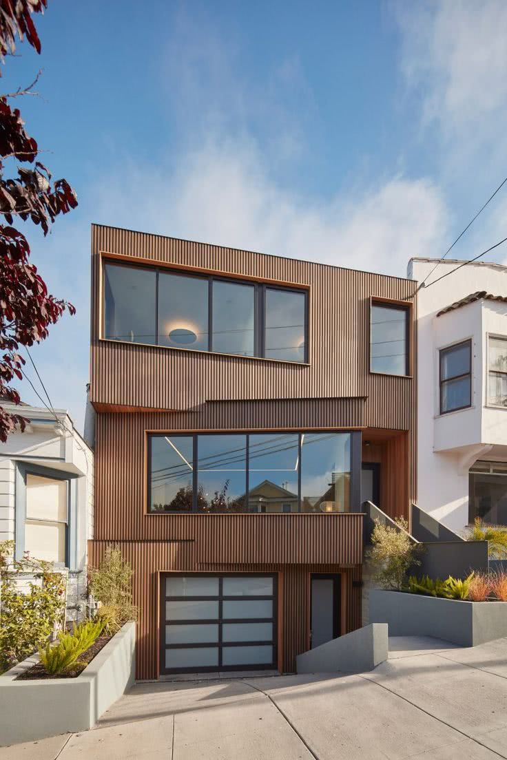 Casas estilo americano 65 projetos e fotos apaixonantes for Materiais para fachadas de casas modernas