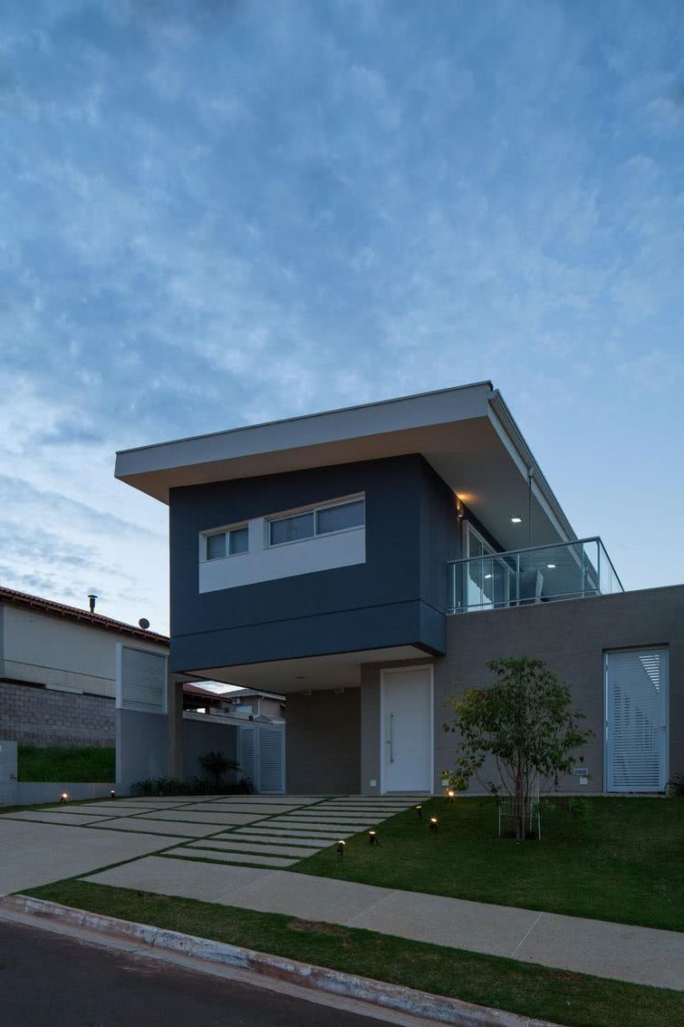 Casas estilo americano 65 projetos e fotos apaixonantes for Casa moderna haddoz